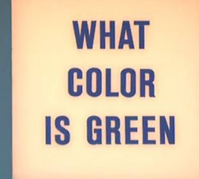 What Color Is Green