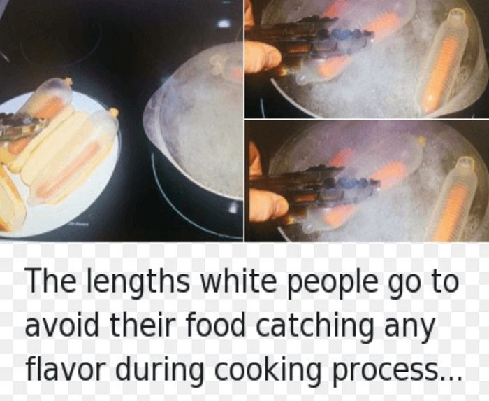 White People Cooking