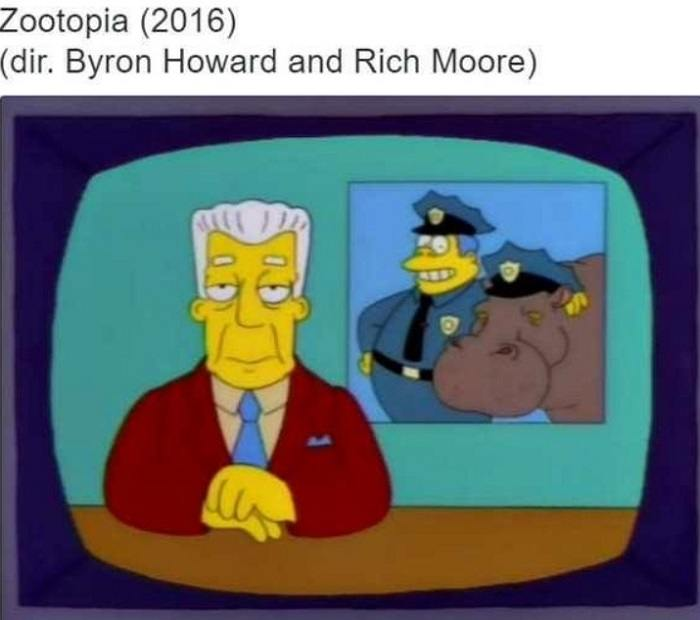 Zootopia Funny Simpsons Remake