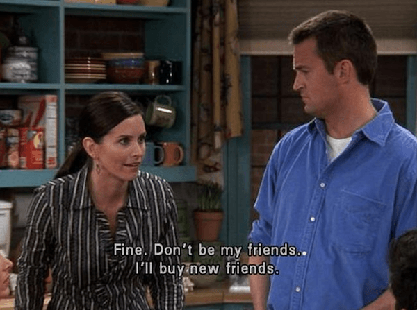 Friends Screencaps New Friends