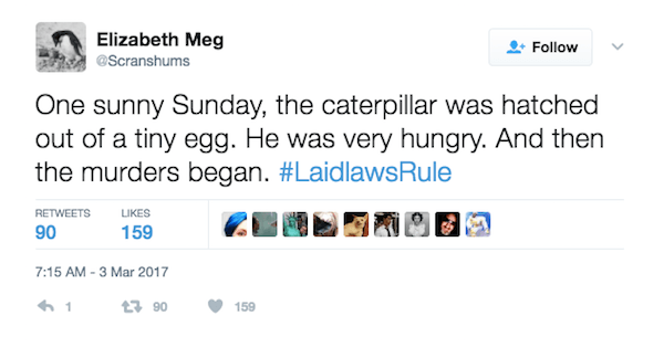 Hungry Caterpillar Laidlaw Rule
