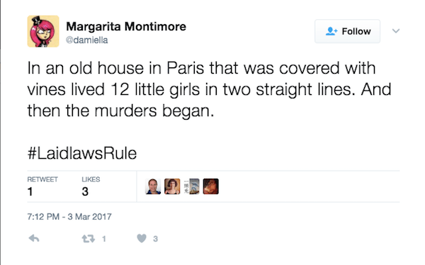 Madeline Murders Began