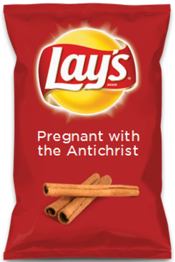 New Snack Flavors Antichrist