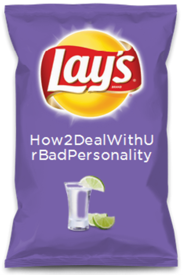 New Snack Flavors Personality