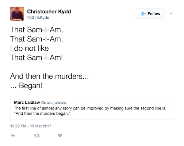 Sam I Am Murders Began