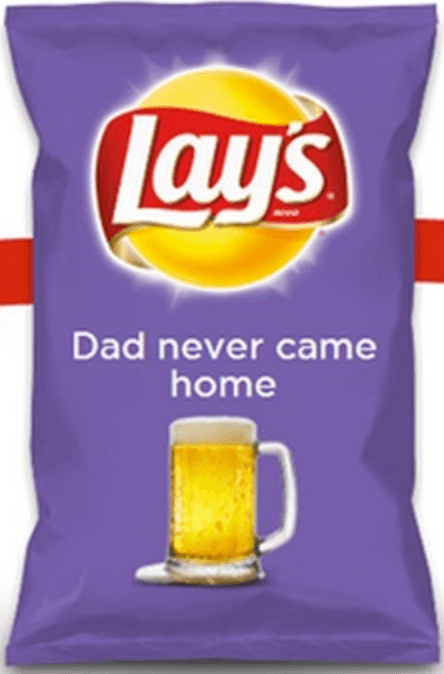 Dad Never Came Home Lays Flavor
