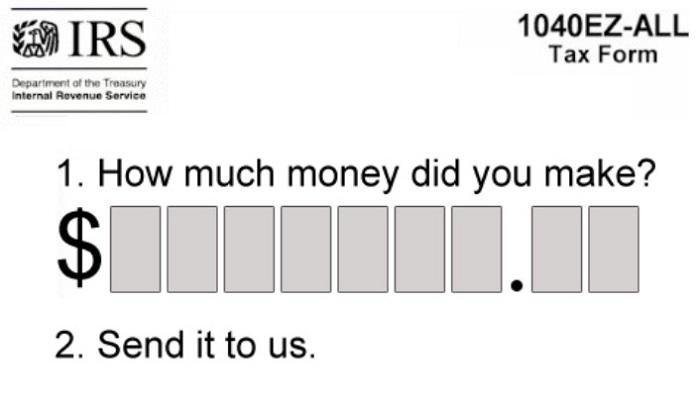 Accurate Tax Form Funny Tax Memes