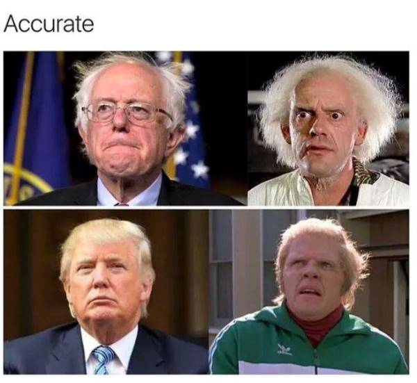 Back To The Future Donald Trump Meme
