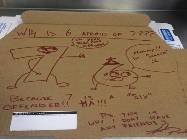 Cool Pizza Box Drawings