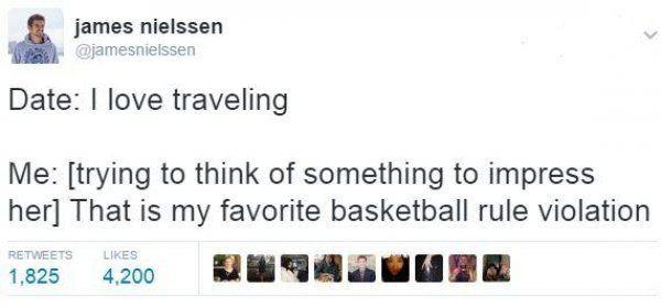 Basketball Rule Violation