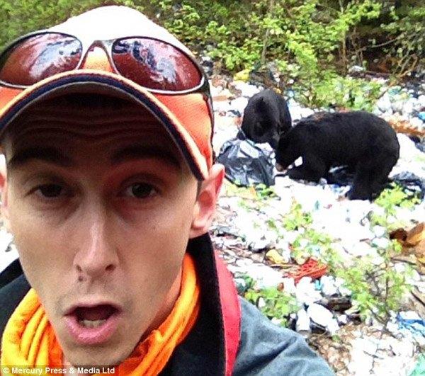 Bear Selfie