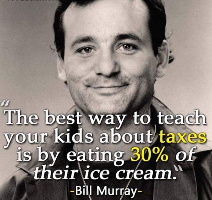 Bill Murray Ice Cream