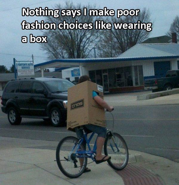 Fashion Fails Big Box