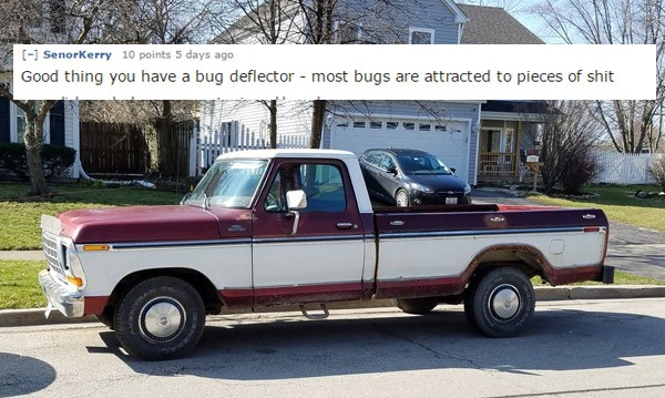 52 Car Roasts That Perfectly Summed Up These Ugly Rides