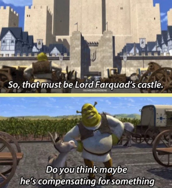 Compensating Shrek