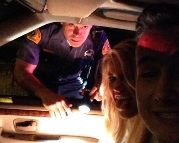 Cop Selfie