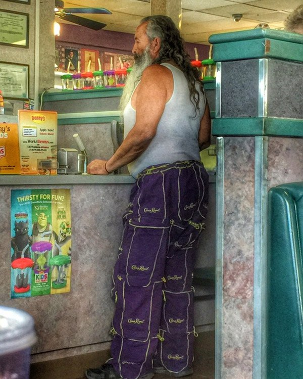 Crown Royal Pants