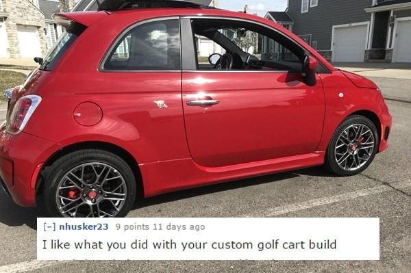 Custom Golfcart