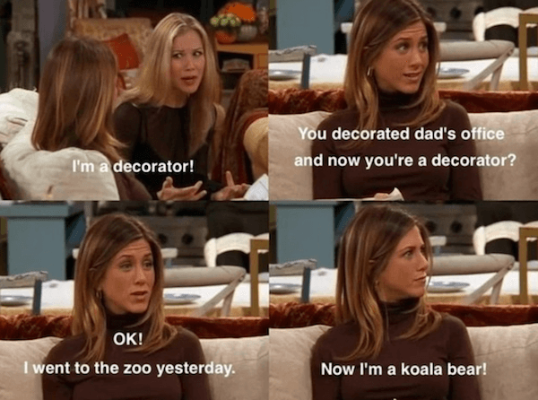 Hilarious Friends Quotes TV Show