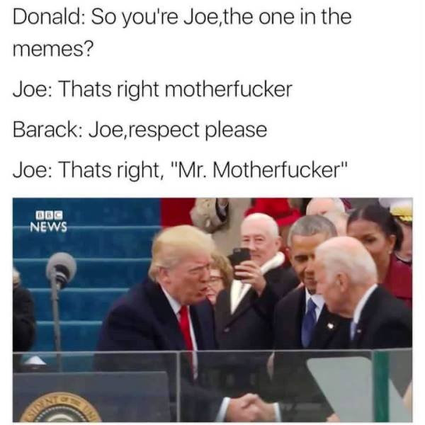 Donald Trump Memes Mr Motherfucker