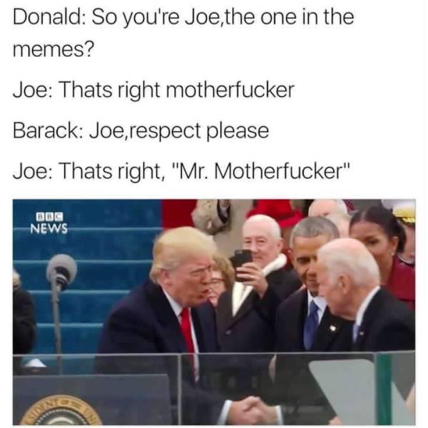 Donald Trump Memes Mr Motherfucker