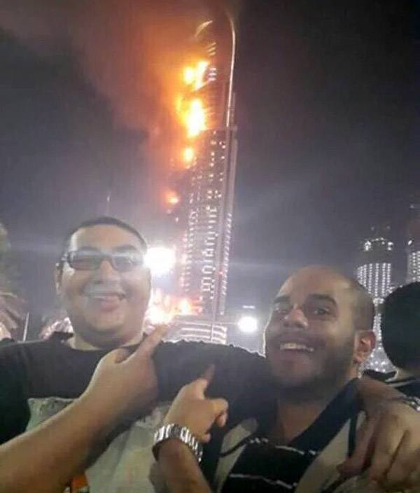 Dubaihotel Fireselfie