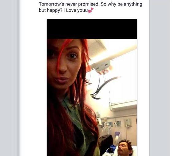 Dying Relative Selfie