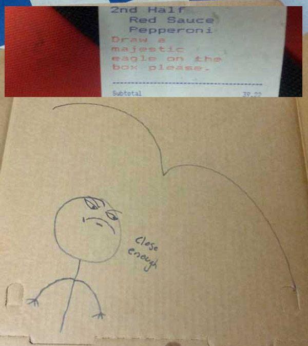Dank Memes On A Pizza Box