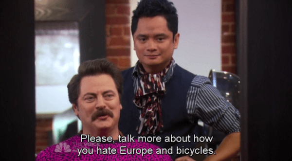 Europe And Bicycles