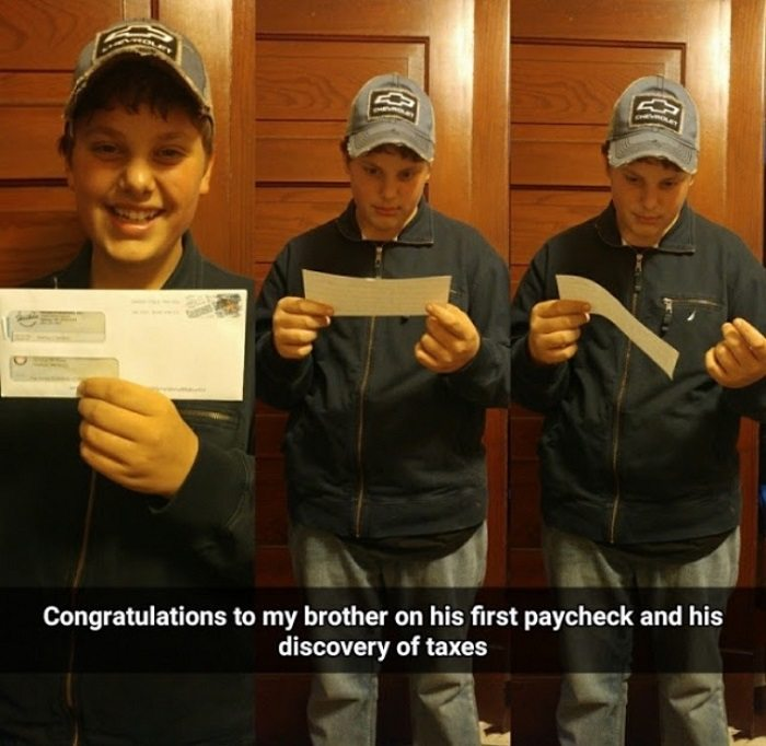 First Taxed Income