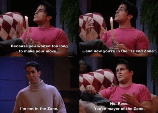 Chandler In The Friend Zone