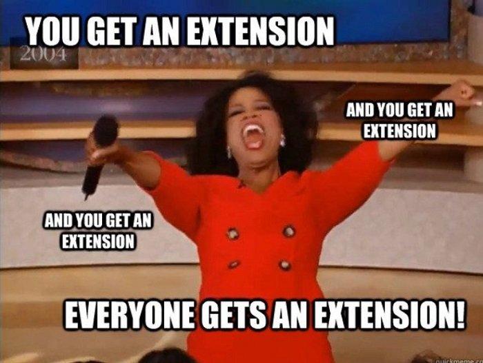 Get An Extension