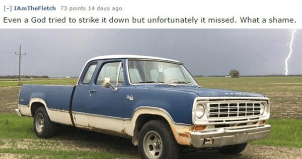 God And Car