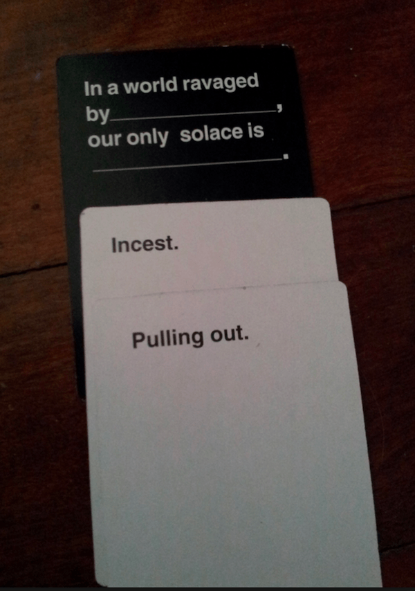 Funny Cards Against Humanity Card Combinations