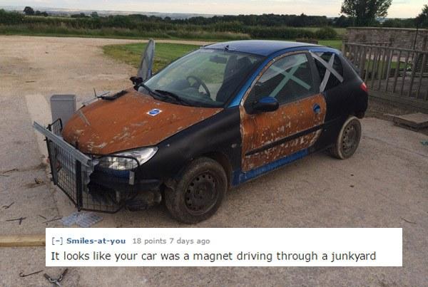 Junkyard Magnet