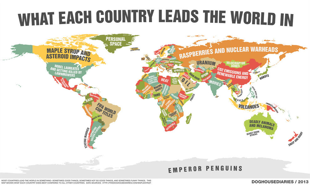 35 funny maps that would have actually made geography fun leads the world publicscrutiny Gallery