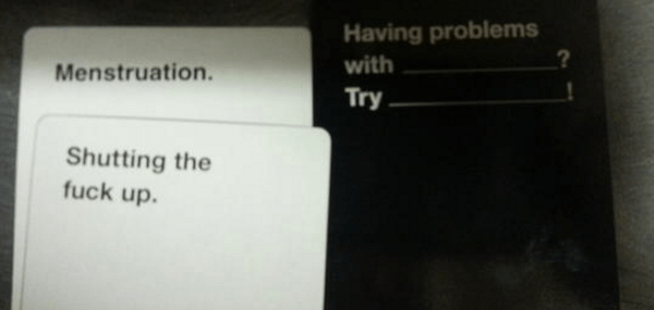 Funny Cards Against Humanity Combinations