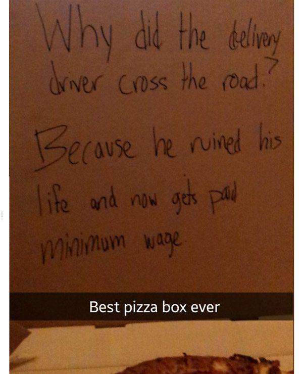 Minimum Wagepizza