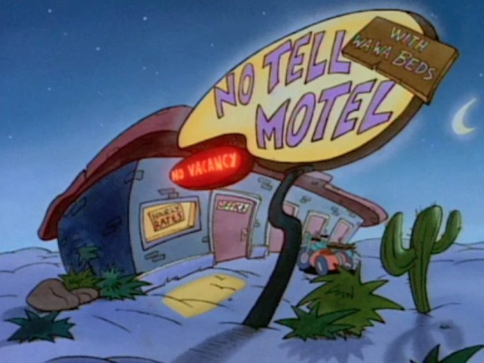 No Tell Motel Rocko's Modern Life