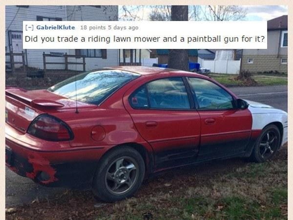 Paintball Car