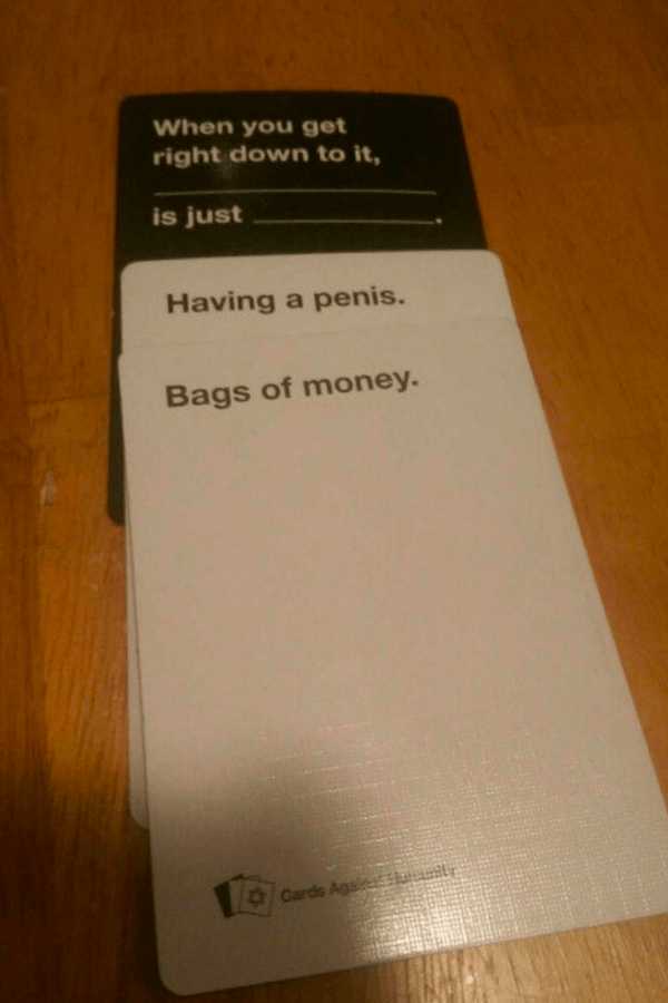 Funny Cards Against Humanity