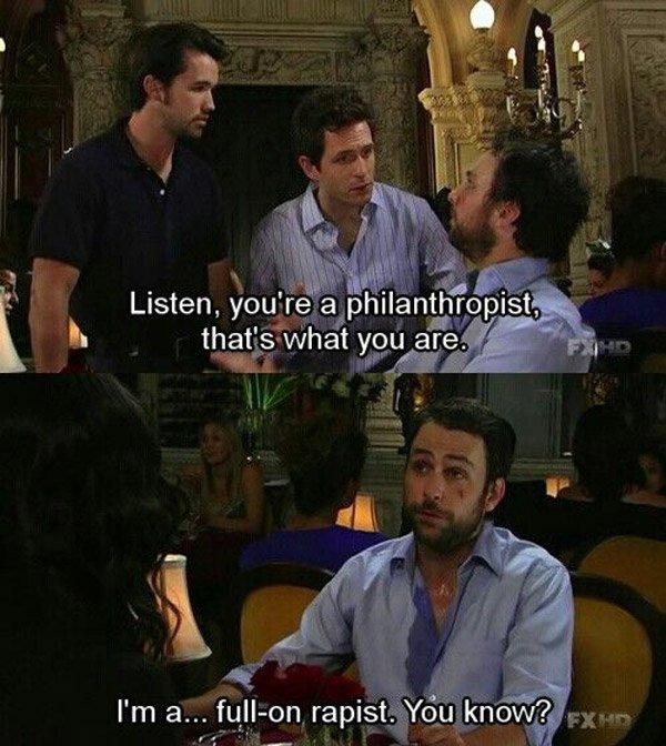 It's Always Sunny in Philadelphia Funniest Quotes