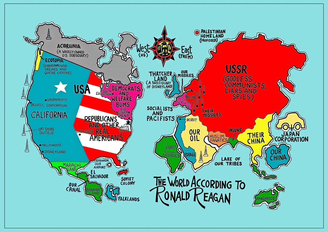 Funny Maps That Would Have Actually Made Geography Fun - Accrate map of us