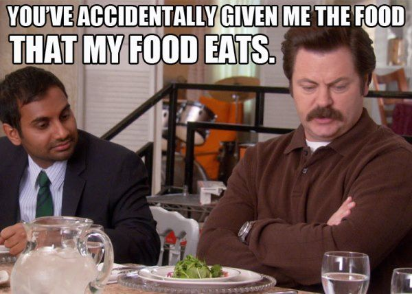 Ron Swanson Quotes Food That Food Eats