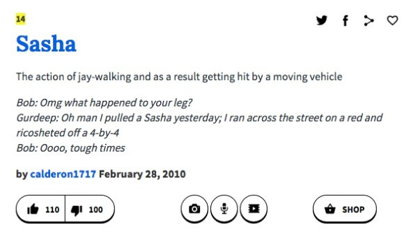 Urban Dictionary Name Definitions For Sasha