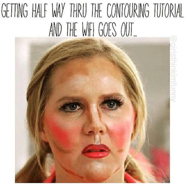 Schumer Makeup