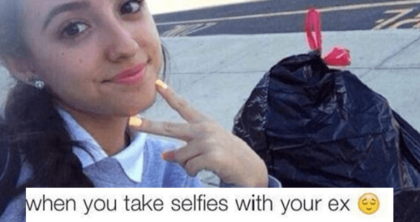 Selfies With Your Ex