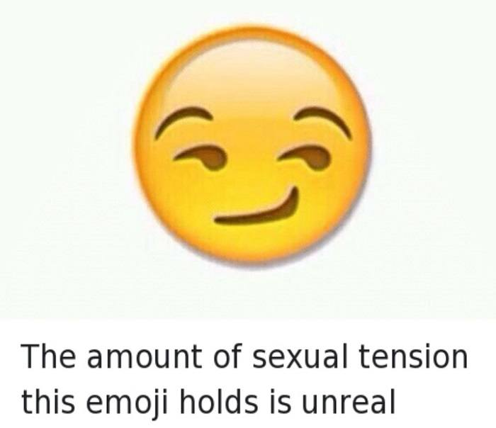 Sexual Tension Emoji Funny Sexuality Memes