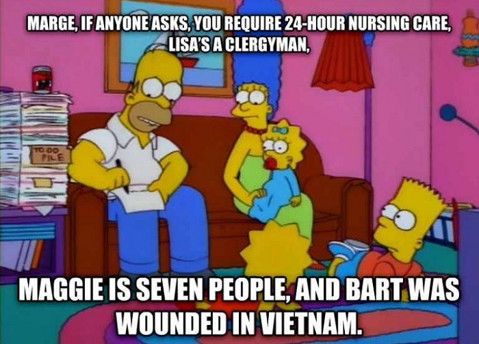 Simpson Taxes Funny