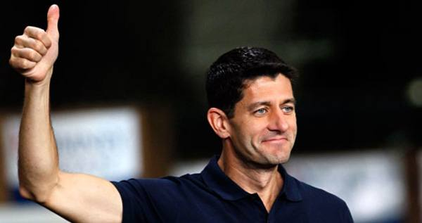 Thumbs Up Paul Ryan